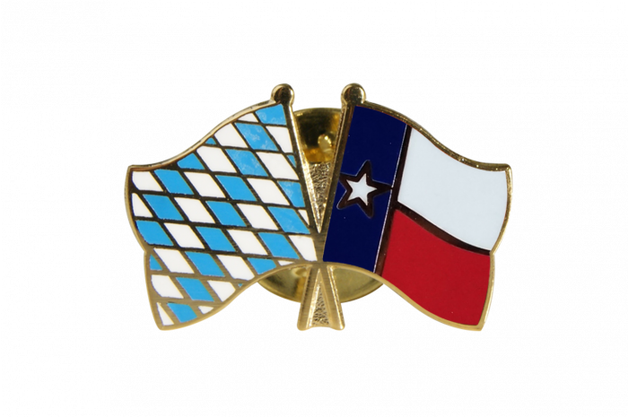Bavaria Usa Texas Friendship Flag Pin Badge 22 Mm Best Buy Flags Co Uk