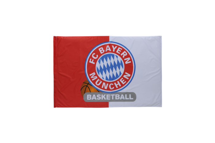 FC Bayern München Basketball Flag - 3.3 x 5 ft. / 100 x 150 cm