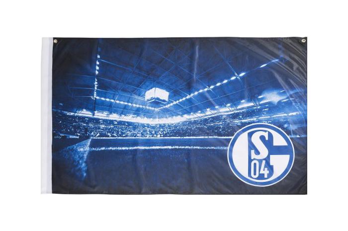 Fc Schalke 04 Flag 3 X 4 5 Ft 90 X 140 Cm Best Buy Flags Co Uk