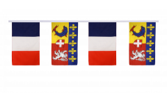 France - Alpes Friendship Bunting Flags - 12 x 18 inch