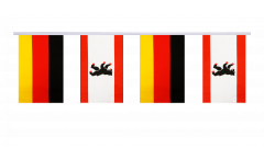 Germany - Germany Berlin Friendship Bunting Flags - 5.9 x 8.65 inch