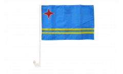 Aruba Car Flag - 12 x 16 inch
