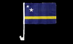 Curacao Car Flag - 12 x 16 inch