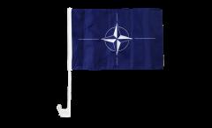 NATO Car Flag - 12 x 16 inch