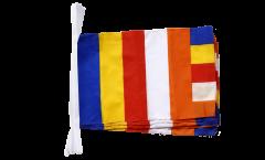 Buddhist Bunting Flags - 12 x 18 inch