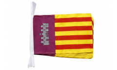 Spain Majorca Bunting Flags - 12 x 18 inch