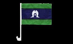 Australia Torres Strait Islands Car Flag - 12 x 16 inch