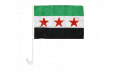 Syria 1932-1963 / Opposition Free Syrian Army Car Flag - 12 x 16 inch