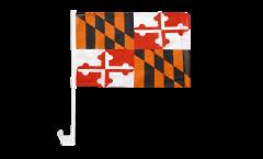 USA Maryland Car Flag - 12 x 16 inch