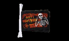 Happy Halloween 5 Bunting Flags - 5.9 x 8.65 inch
