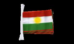 Kurdistan Bunting Flags - 5.9 x 8.65 inch