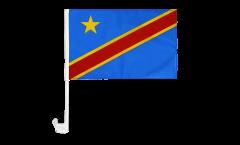 Democratic Republic of the Congo Car Flag - 12 x 16 inch