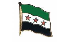 Syria 1932-1963 / Opposition Free Syrian Army Flag Pin, Badge - 1 x 1 inch