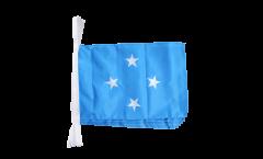 Micronesia Bunting Flags - 12 x 18 inch