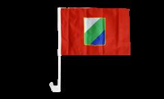 Italy Abruzzi Car Flag - 12 x 16 inch