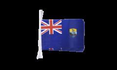 Saint Helena Bunting Flags - 5.9 x 8.65 inch