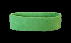 unicolor lime green Headband / sweatband - 6 x 21cm