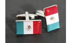 Cufflinks Mexico Flag - 0.8 x 0.5 inch
