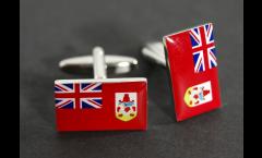Cufflinks Bermuda Flag - 0.8 x 0.5 inch