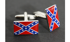 Cufflinks USA Southern United States Flag - 0.8 x 0.5 inch