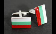 Cufflinks Bulgaria Flag - 0.8 x 0.5 inch