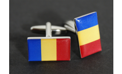 Cufflinks Chad Flag - 0.8 x 0.5 inch