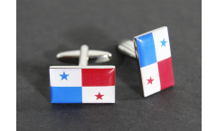 Cufflinks Panama Flag - 0.8 x 0.5 inch