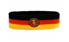 Germany GDR Headband / sweatband - 6 x 21cm