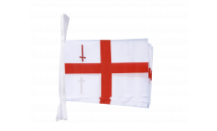 Great Britain London Bunting Flags - 5.9 x 8.65 inch