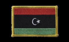 Libya Patch, Badge - 3.15 x 2.35 inch