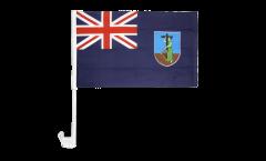 Montserrat Car Flag - 12 x 16 inch