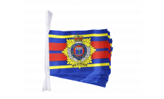 Great Britain British Army Royal Logistic Corps Bunting Flags - 5.9 x 8.65 inch