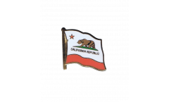 USA California Flag Pin, Badge - 1 x 1 inch