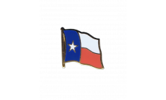 USA Texas Flag Pin, Badge - 1 x 1 inch
