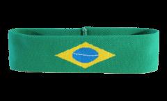 Brazil Headband / sweatband - 6 x 21cm