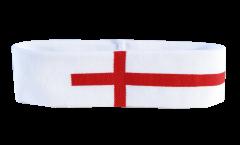 England Headband / sweatband - 6 x 21cm