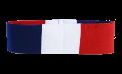 France Headband / sweatband - 6 x 21cm