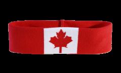 Canada Headband / sweatband - 6 x 21cm