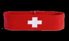 Switzerland Headband / sweatband - 6 x 21cm