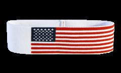 USA Headband / sweatband - 6 x 21cm