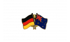 Germany - Australia Friendship Flag Pin, Badge - 22 mm
