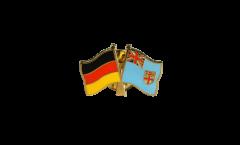 Germany - Fiji Friendship Flag Pin, Badge - 22 mm