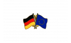 Germany - European Union EU Friendship Flag Pin, Badge - 22 mm