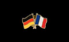 Germany - France Friendship Flag Pin, Badge - 22 mm