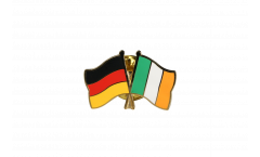 Germany - Ireland Friendship Flag Pin, Badge - 22 mm