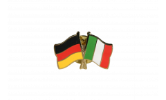 Germany - Italy Friendship Flag Pin, Badge - 22 mm
