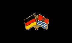 Germany - Kiribati Friendship Flag Pin, Badge - 22 mm