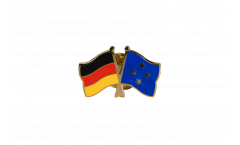 Germany - Micronesia Friendship Flag Pin, Badge - 22 mm