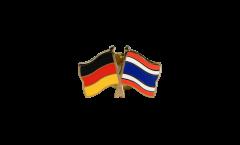 Germany - Thailand Friendship Flag Pin, Badge - 22 mm