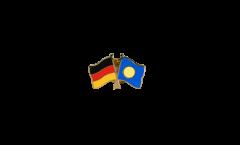 Germany - Palau Friendship Flag Pin, Badge - 22 mm